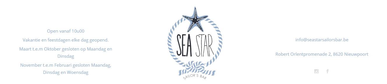 Openingsuren SeastarSailorsBar Nieuwpoort